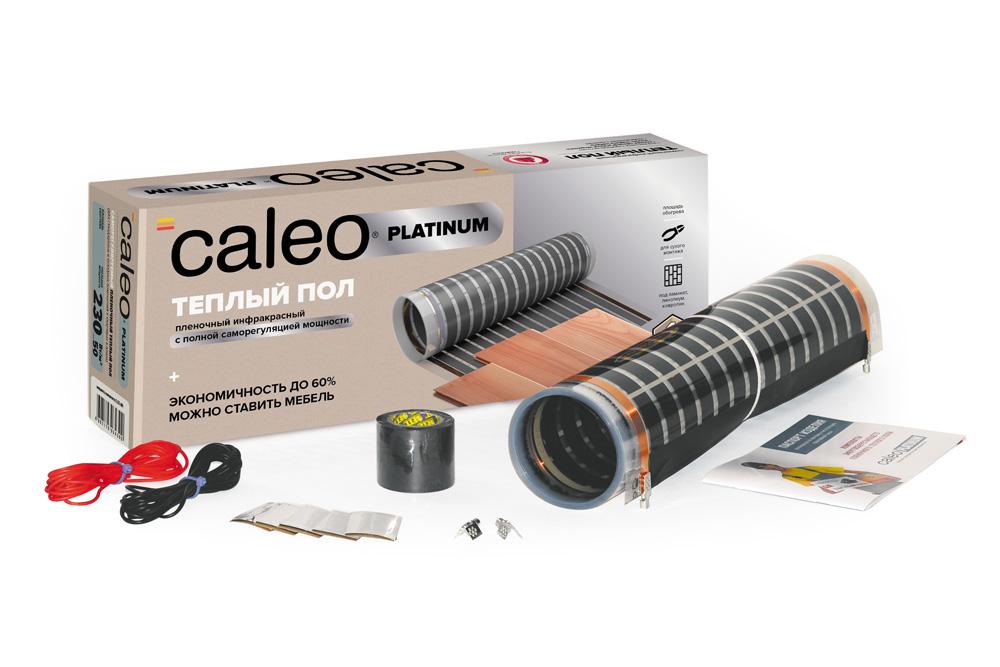 Пленочный теплый пол CALEO PLATINUM 230 Вт/м2, 6 м2 КА000001322