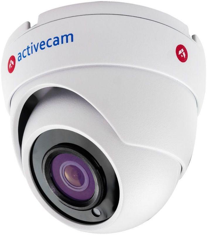 Камера видеонаблюдения ActiveCam AC-TA481IR2 2.8-2.8мм цветная корп.:белый.
