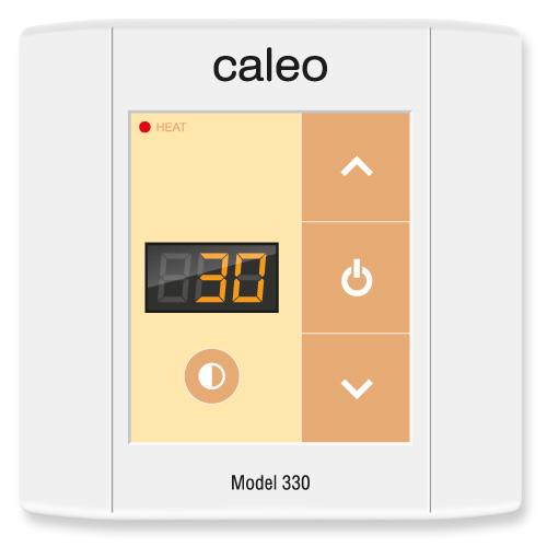 Терморегулятор CALEO 330 встраиваемый цифровой, 3 кВт КА000000738