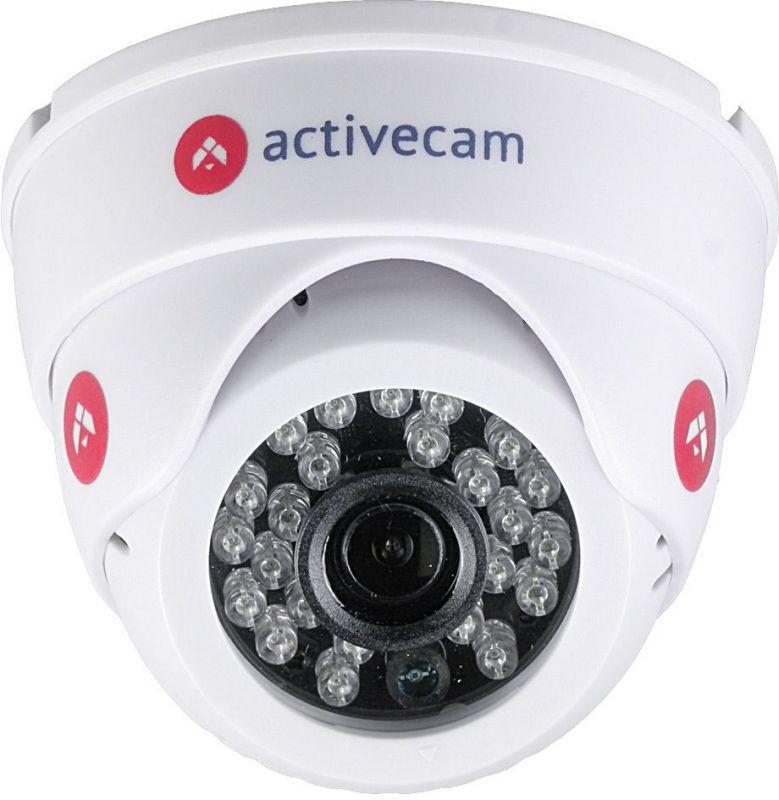 Видеокамера IP ActiveCam AC-D8121IR2W 2.8-2.8мм цветная корп.:белый.