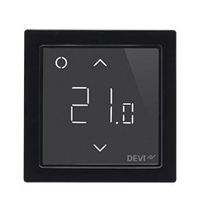 Терморегулятор DEVIreg™ Smart интеллектуальный с Wi-Fi, черный, 16А DEVI 140F1143