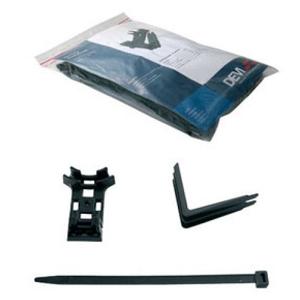 Крепление DEVIclip Guardhook кабеля на поверхности или на краю металлочереп. кровли: фиксатор кабеля DEVI 19805193