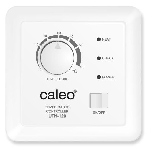 Терморегулятор CALEO UTH-120 встраиваемый аналоговый, 3,5 кВт КА000000995