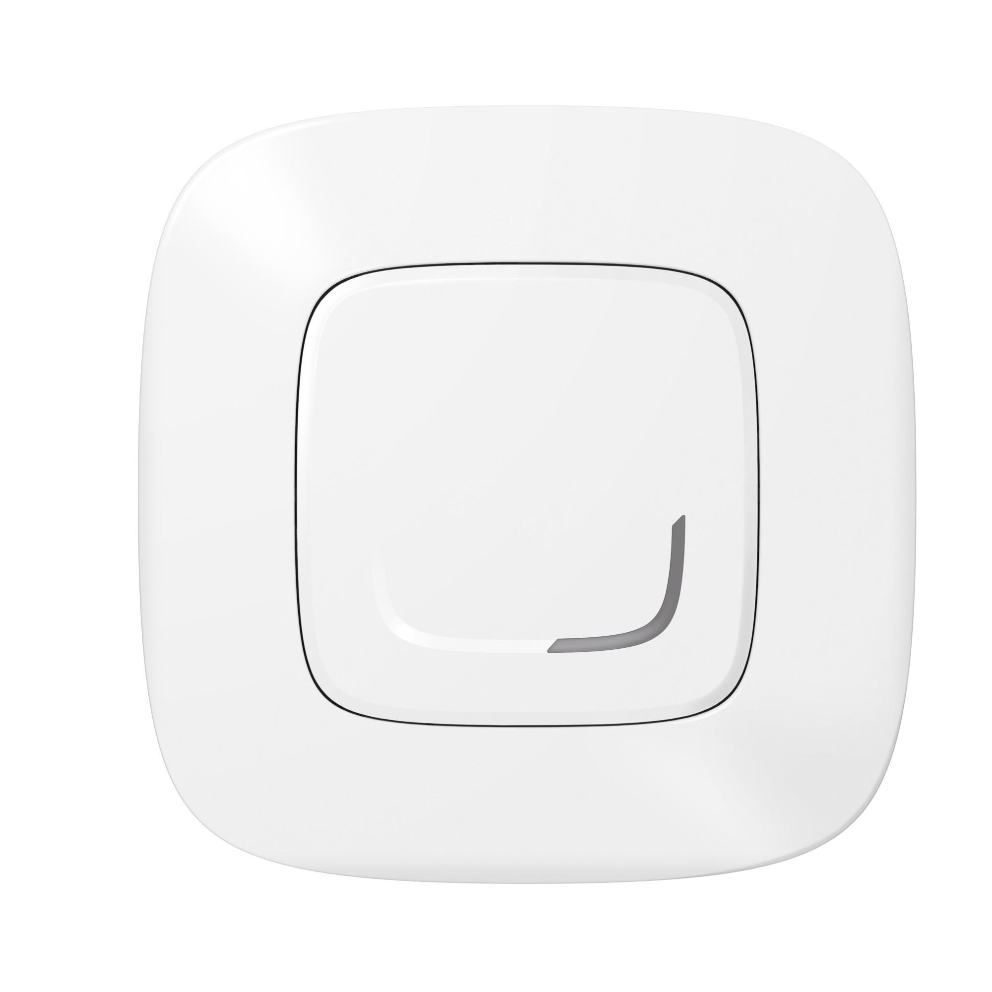 Умный проводной выключатель с опцией светорегулирования 5-300 Вт 230В. Цвет Белый Legrand Valena Allure with NETATMO 752584