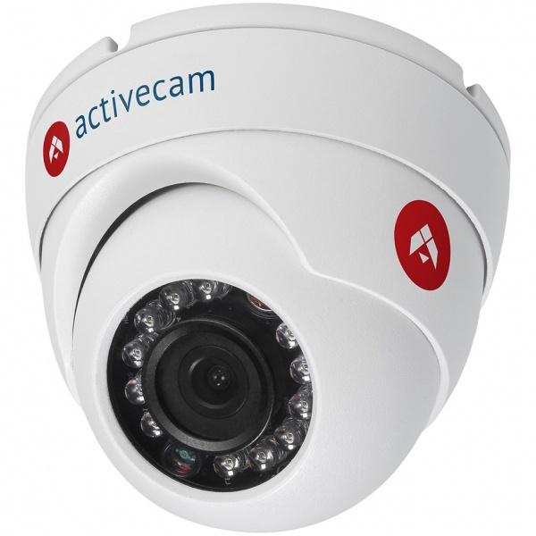 Видеокамера IP ActiveCam AC-D8121IR2 3.6-3.6мм корп.:белый.