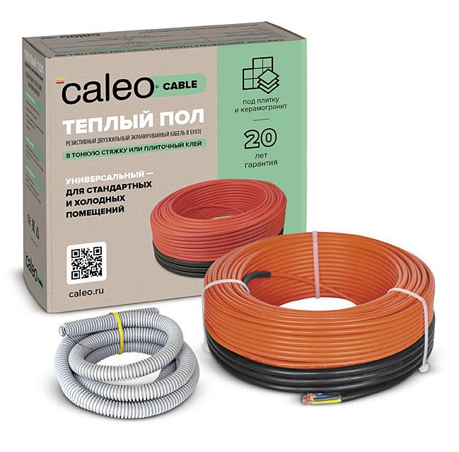 Нагревательная секция для теплого пола CALEO CABLE 18W-80,  11,1 м2 КА000001733
