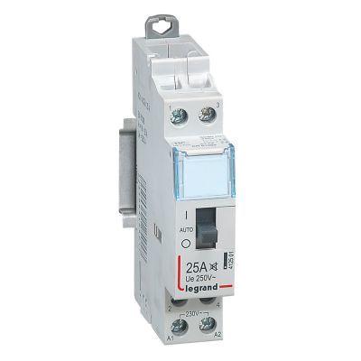 412501 CX3 Контактор быт.б/ш.230V 2Н0 25А Legrand   Купить в интернет-магазине Лампадия